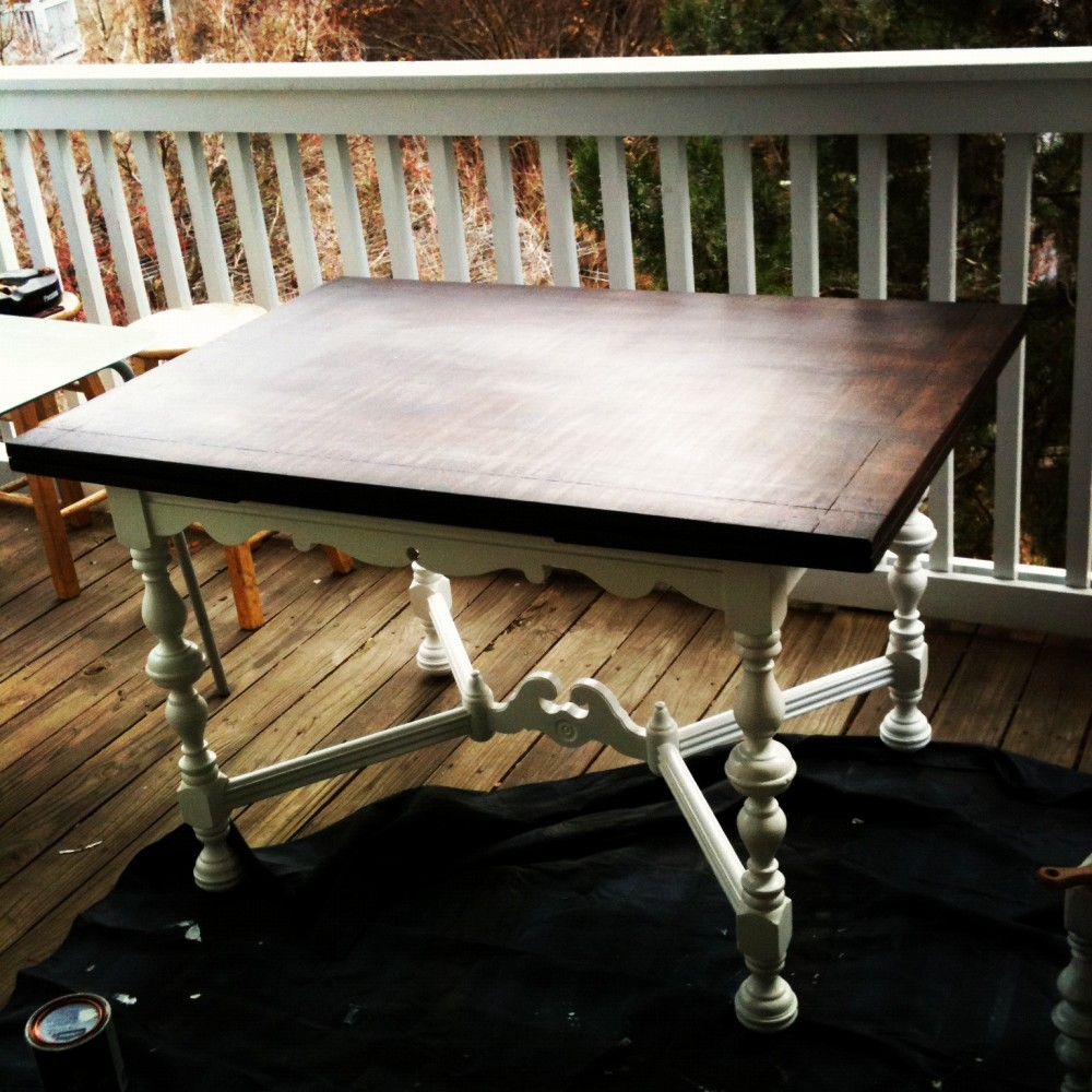 Beer'd Table with Extensions