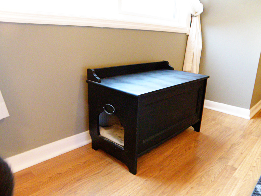 diy cat litter box furniture alewood furniture co. Black Bedroom Furniture Sets. Home Design Ideas