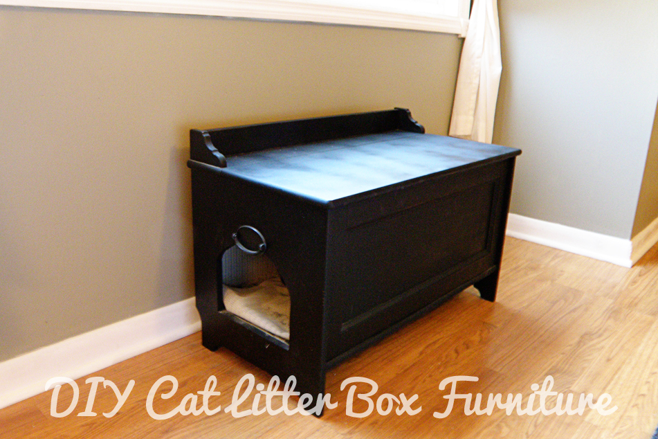 DIY Cat Litter Box Furniture : alewood furniture co