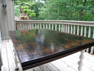 Table Top After Poly